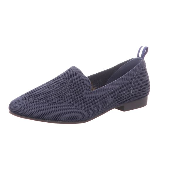 living UPDATED Damen-Slipper Blau