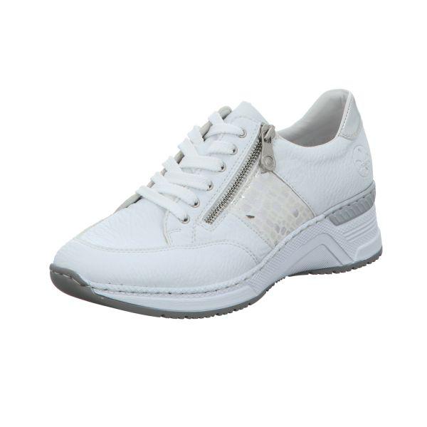 Rieker Damen-Sneaker Weiß
