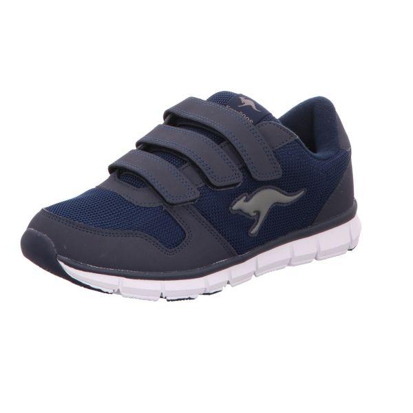 Kangaroos Damen-Klett-Sportschuh Blau