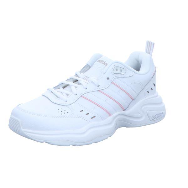 adidas Damen-Sneaker Strutter Weiß-Rosa