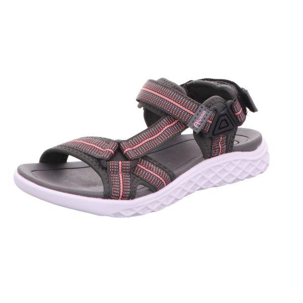 Alyssa Damen-Sandalette Grau-Pink