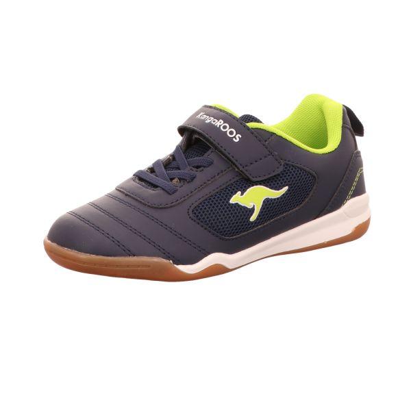 KangaROOS Jungen-Slipper-Kletter-Sneaker Blau