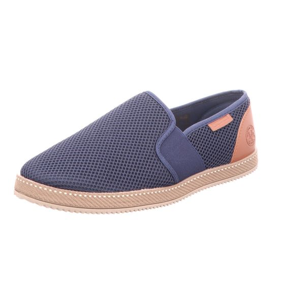 living UPDATED Herren-Slipper-Slip-On Blau