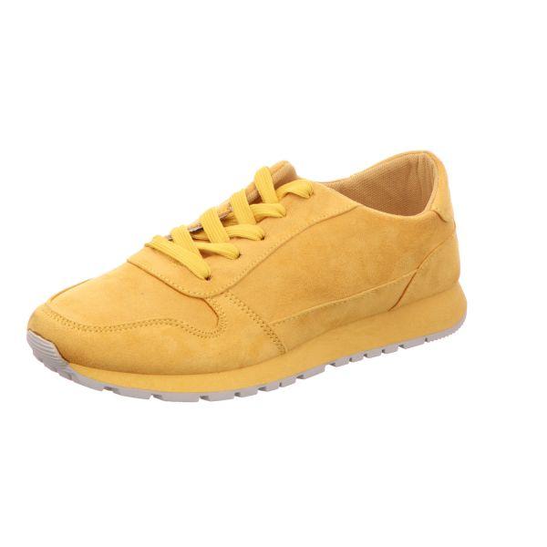 living UPDATED Damen-Sneaker-Schnürhalbschuh Gelb