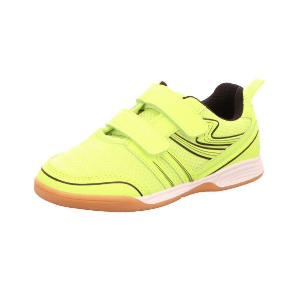 Sneakers Jungen-Slipper-Kletter-Sneaker Gelb