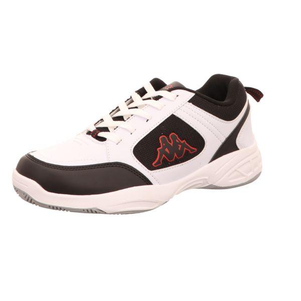 KAPPA Herren-Sneaker Glenbeg Weiß-Schwarz