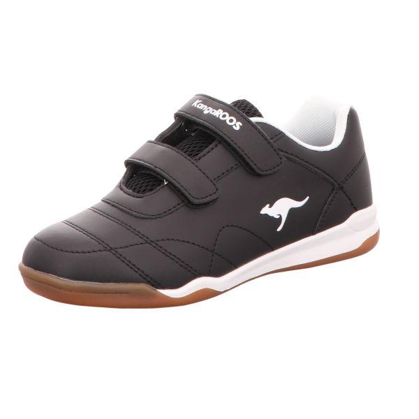 KangaROOS Kinder-Sneaker-Indoorschuh Schwarz