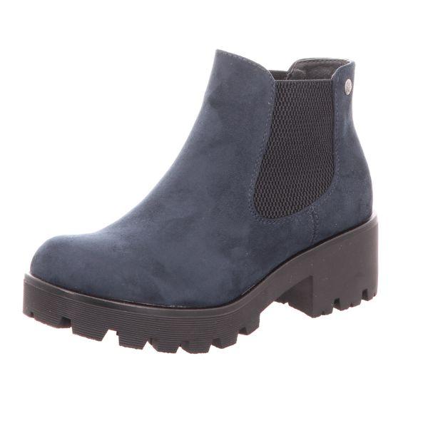 Rieker Damen-Stiefelette-Boot Blau