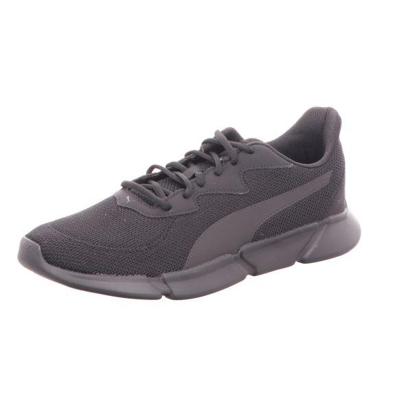 Puma Herren-Sneaker Interflex Runner Schwarz