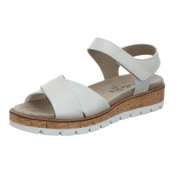 Scarbella Damen-Sandalette Weiß