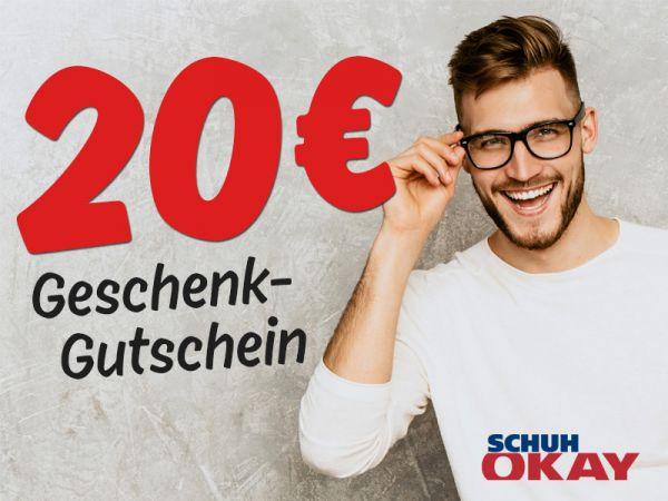 20 € SCHUH OKAY Gutschein
