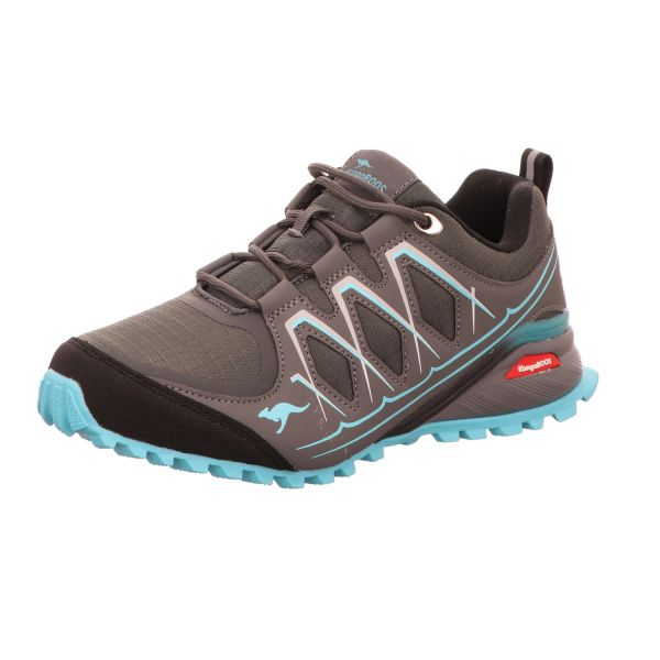 KangaROOS Damen-Sneaker-Slipper Grau