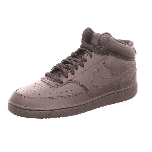Nike Herren-Sneaker Court Vision Mid Schwarz