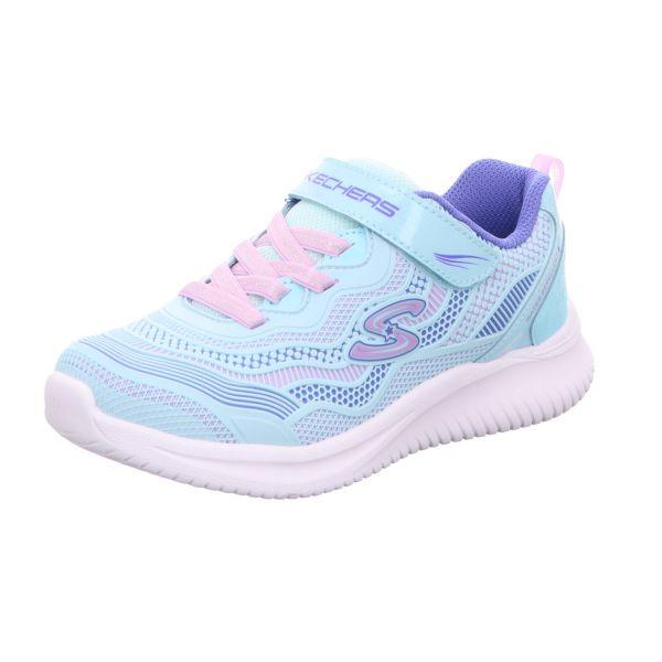 Skechers Mädchen-Kletter-Sneaker Jumpsters Blau