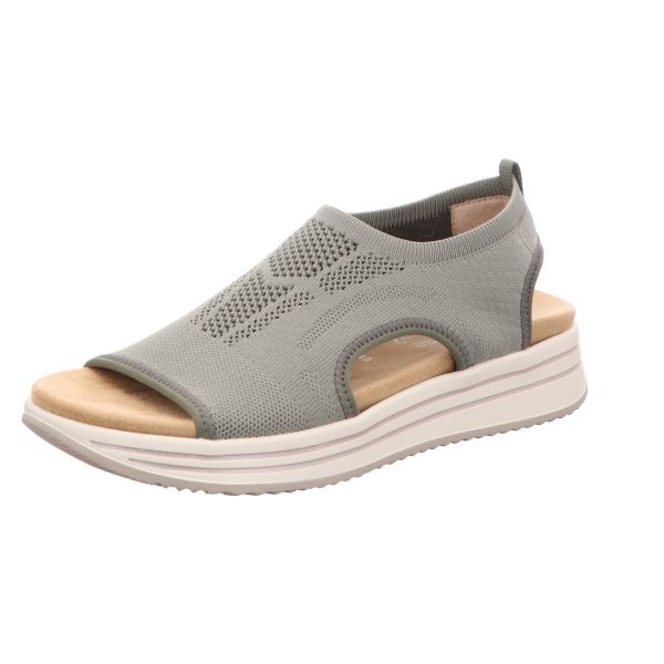 Remonte Damen-Sandalette Oliv-Grün
