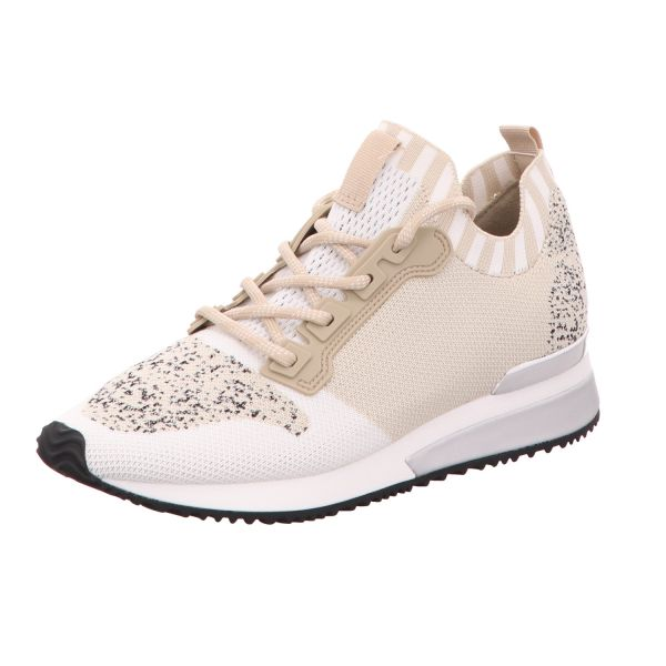 La Strada Damen-Sneaker-Slipper Laced up sneaker Beige