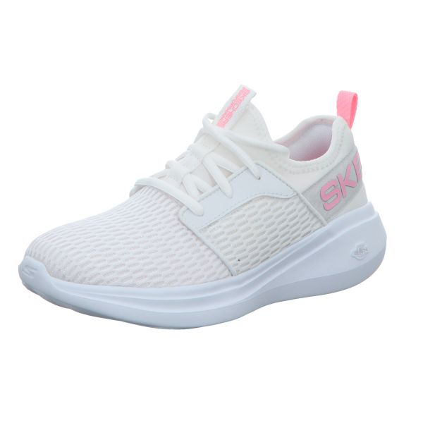 Skechers Damen-Sneaker-Slipper Go Run Fast Weiß