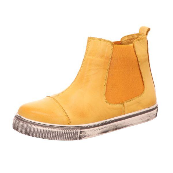 BOXX Damen-Stiefelette Gelb