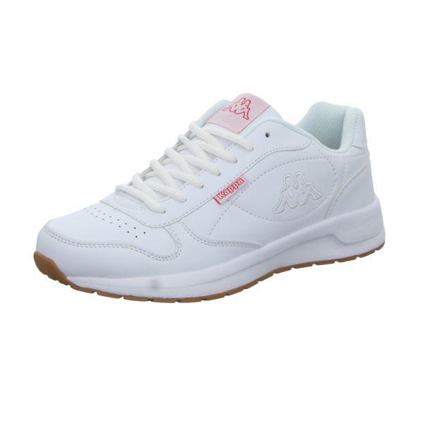 KAPPA Damen-Sneaker Base II Weiß