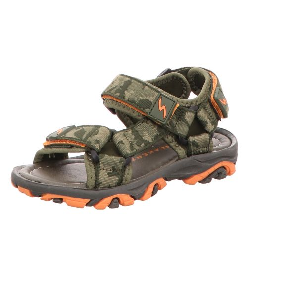 Sneakers Jungen-Sandalette Grün