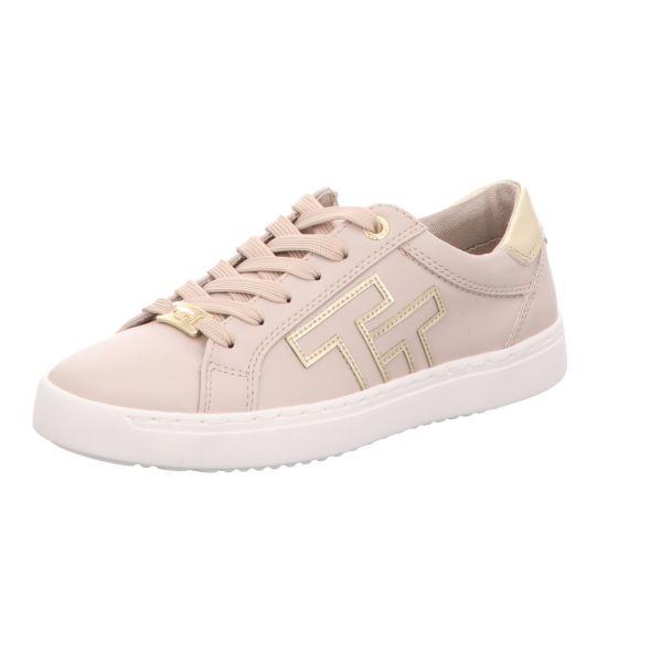 Tom Tailor Damen-Sneaker-Schnürhalbschuh Beige