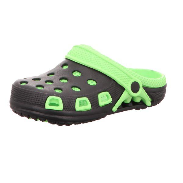Sneakers Damen-Badeschuh Schwarz-Grün