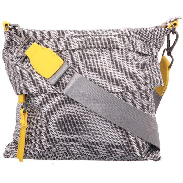 Jewels of Style Damen-Reißverschlusstasche Grau