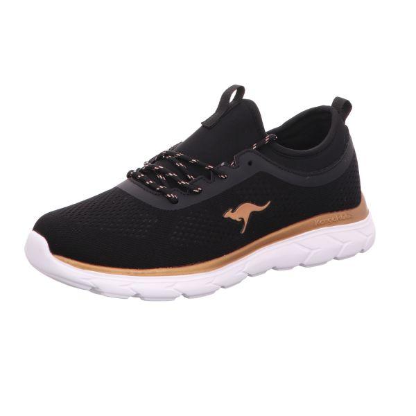Kangaroos Damen-Sneaker Schwarz