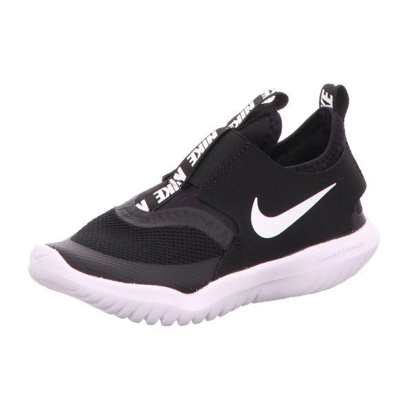 Nike Slipper-Sneaker Flex Runner Schwarz-Weiß