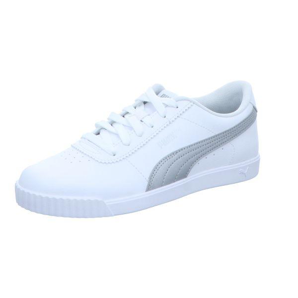Puma Damen-Sneaker Carina Slim Weiß-Silber