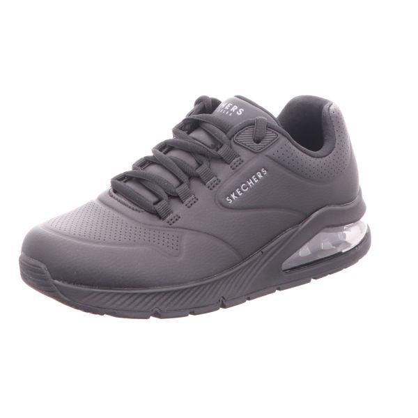 Skechers Damen-Schnürhalbschuh-Sneaker Uno 2 Air Around You Black
