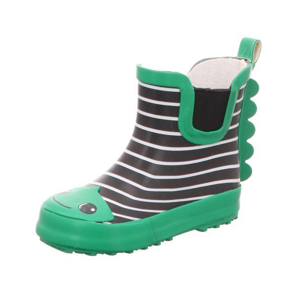 Sneakers Kinder-Gummistiefel Grün-Blau