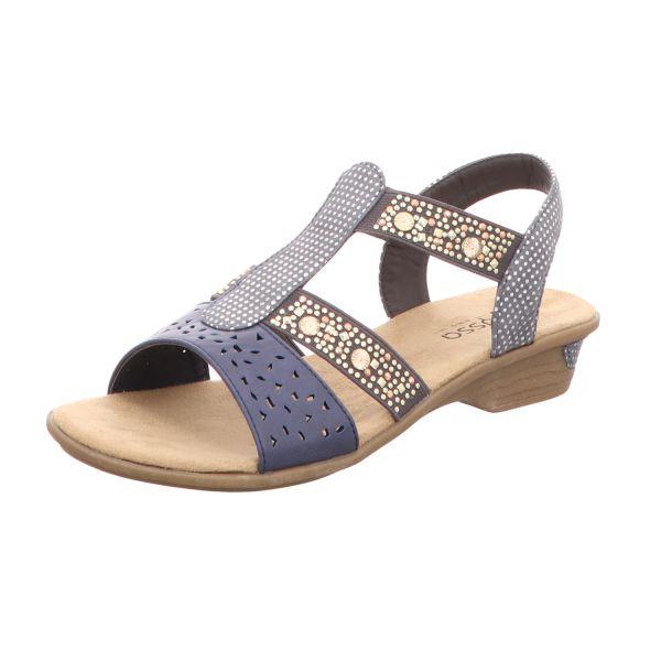Alyssa Damen-Sandalette Blau