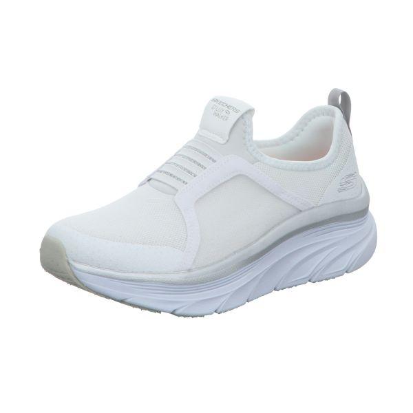 Skechers Damen-Sneaker-Slipper D´Lux Walker Weiß