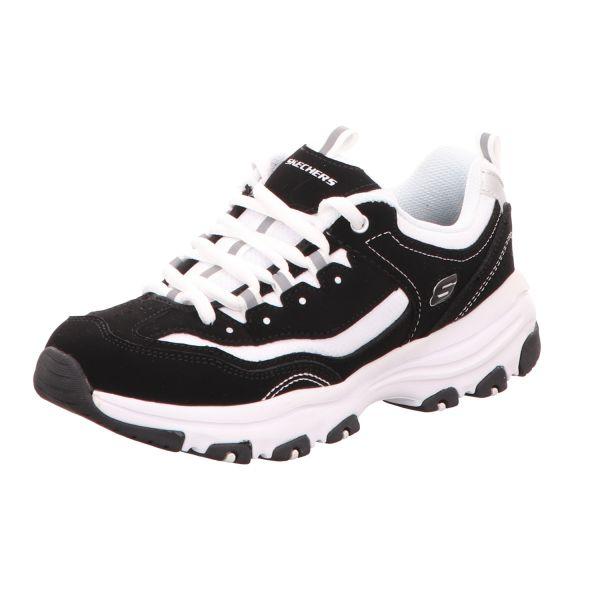 Skechers Damen-Sneaker I-Conik Schwarz-Weiß