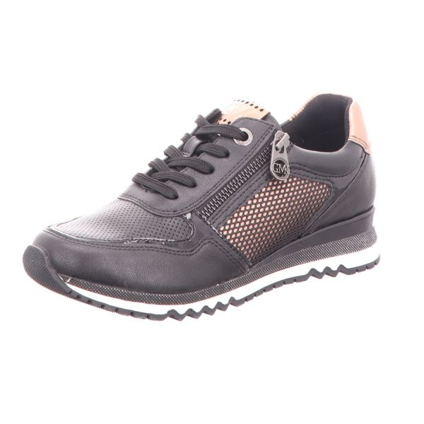 MARCO TOZZI Damen-Sneaker Schwarz-Kupfer