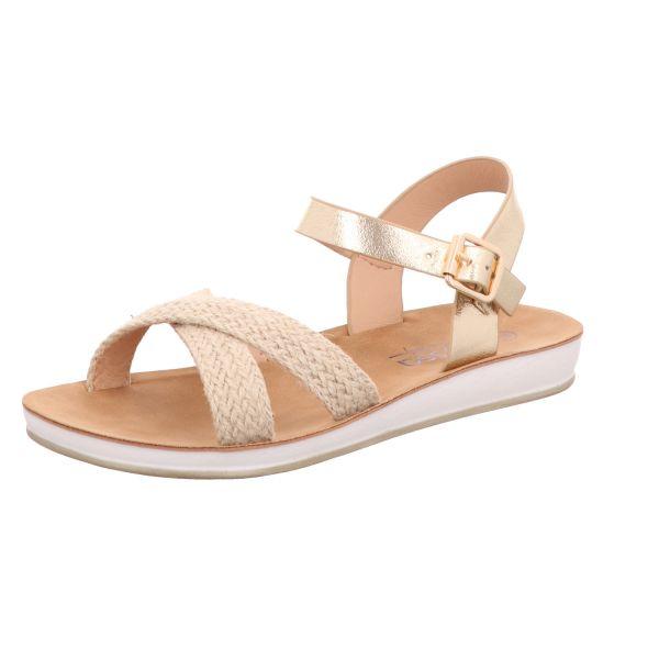 Alyssa Damen-Sandalette Gold