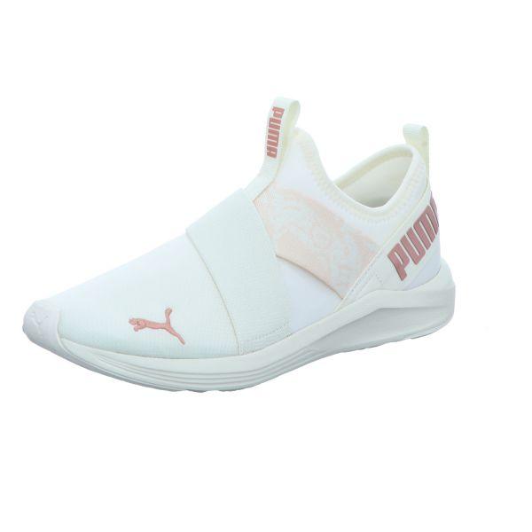 Puma Damen-Slipper-Sneaker Prowl Slip-On Animal WNS Weiß