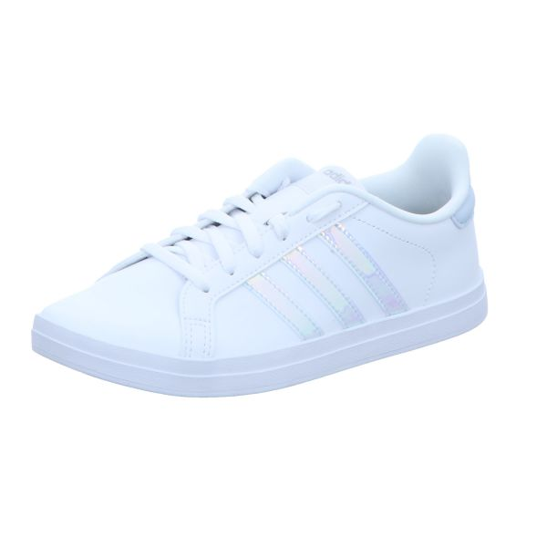 adidas Damen-Sneaker Courtpoint Weiß