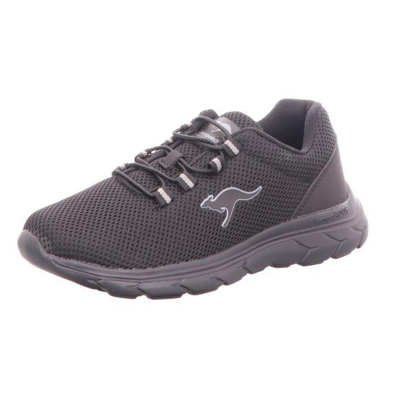 KangaROOS Damen-Sneaker-Slipper Schwarz