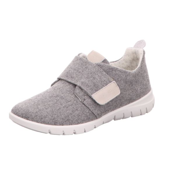 Rohde Damen-Slipper Grau
