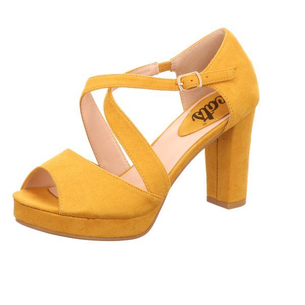 Cats Damen-Sandalette Gelb