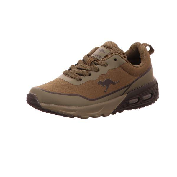 KangaROOS Jungen-Sneaker mit Sportboden KX-3500 Braun
