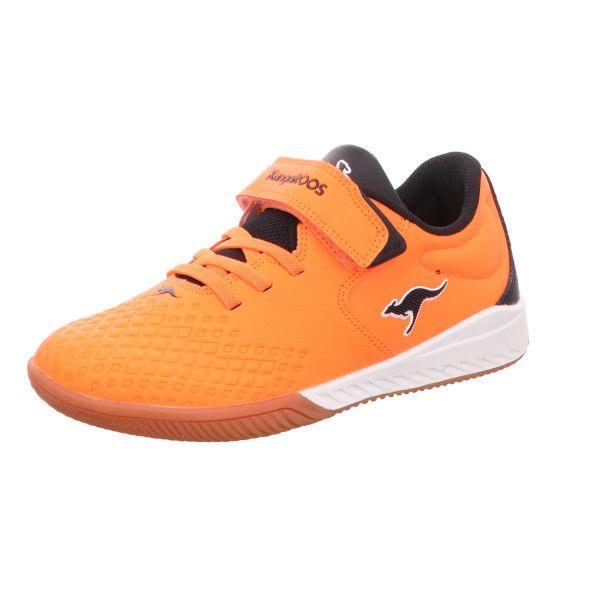 KangaROOS Kinder-Indoor-Sportschuh K5-Comb EV Neon-Orange