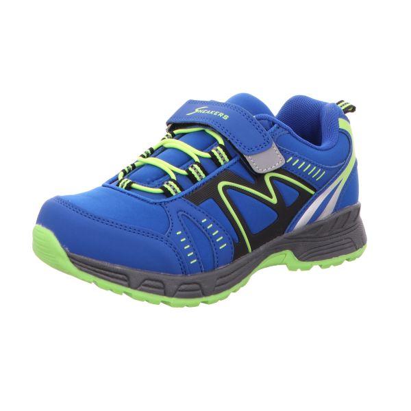 Sneakers Jungen-Slipper-Kletter-Sneaker Blau