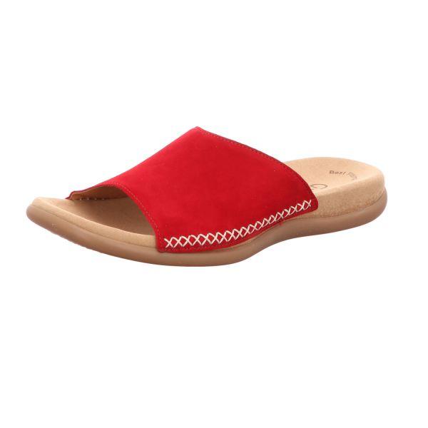 Gabor Damen-Pantolette Rubin-Rot
