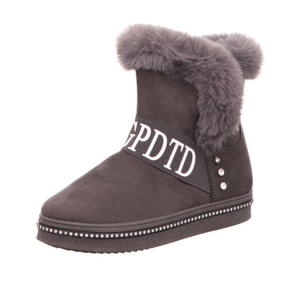 living UPDATED Damen-Boot Grau