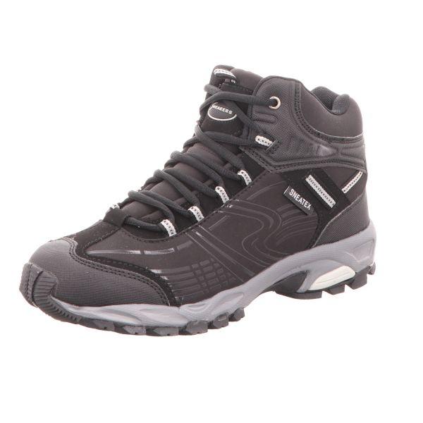 Sneakers Herren-Leichtwanderstiefel Schwarz