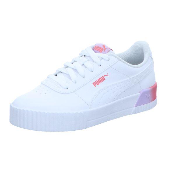 Puma Mädchen-Sneaker Carina Summer Fade JR Weiß