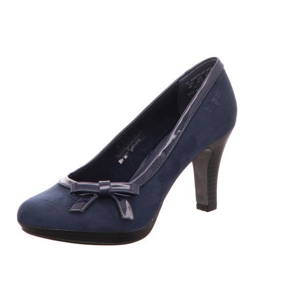 Bugatti Damen-Pumps Blau Isabella